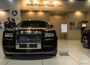 Live in Brussel 2014: Rolls-Royce Ghost V-Spec