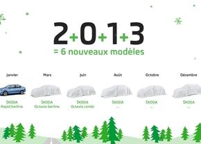 Skoda lanceert zes nieuwe modellen in 2013... en plaagt al een beetje
