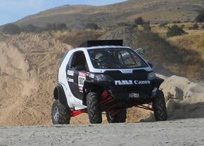 Deze smart gaat deelnemen aan de Dakar-rally