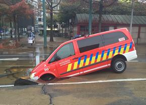 brandweer-antwerpen-waterlek-roosevelt-okt2015