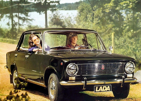 lada 2104 soviet auto advertenties rusland communistisch unie