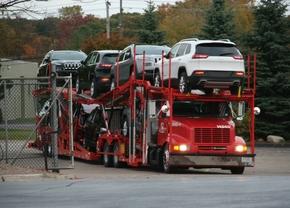 Amerika exporteert recordaantal auto's in 2013