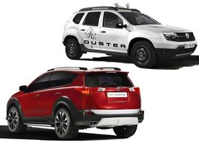 Welke kies jij? Toyota RAV4 Adventure vs. Dacia Duster Aventure