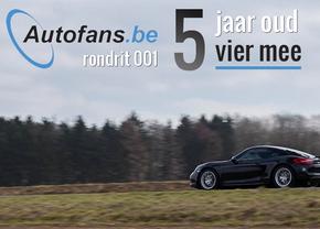 Autofans Rondrit voor onze Vijfde Verjaardag