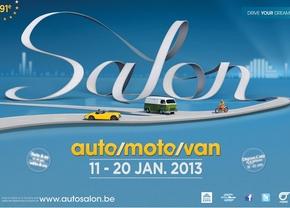 Allen daarheen: Autosalon Brussel 2013