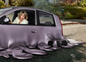 melting-car