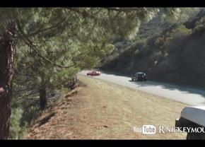 ferrari 360 modena crash mulholland drive