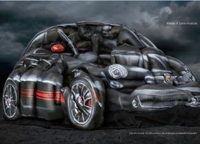 Fiat 500 Abarth art
