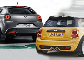 Alfa romeo VS Mini