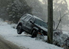 Sneeuw Crash