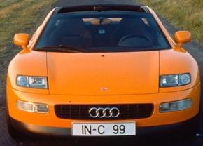 Vergeten auto: Audi Quattro Spyder