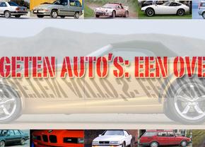 50 vergeten Auto's Autofans.be