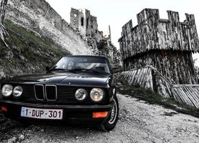 Naar Slowakije met een oldtimer BMW e28