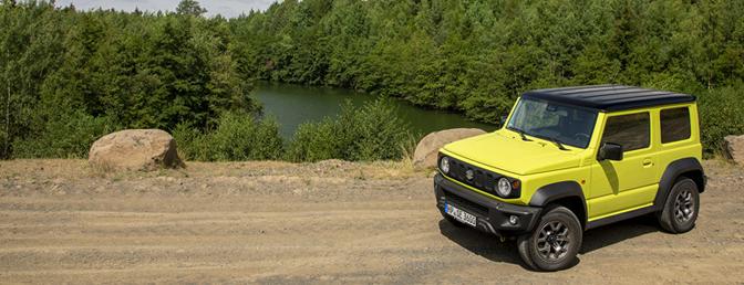 Suzuki Jimny 2018  Rijtest