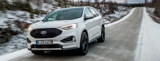Ford Edge facelift rijtest 2019