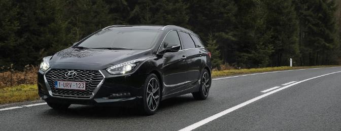 Rijtest Hyundai i40 facelift 2019