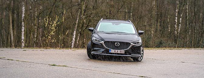 Mazda6 zwart test