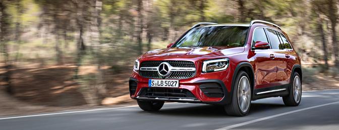 Mercedes GLB rijtest review Belgie 220 d diesel