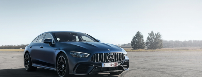 Mercedes-AMG GT 4-Door Coupé rijtest