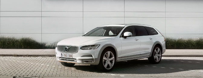 Rijtest Volvo V90 Cross Country 2019