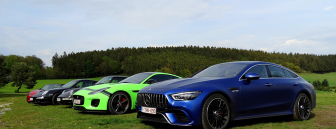Mercedes-AMG GT 4-Door Roadtrip Autofans