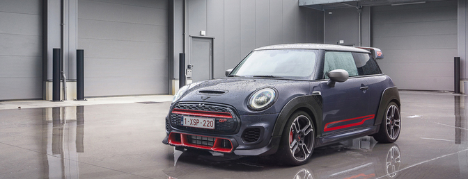 Mini John Cooper Works GP test 2020