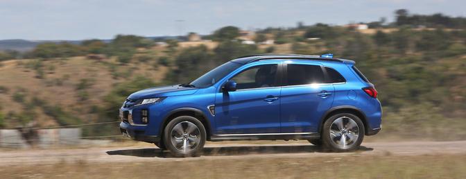 Mitsubishi ASX rijtest Autofans 2020