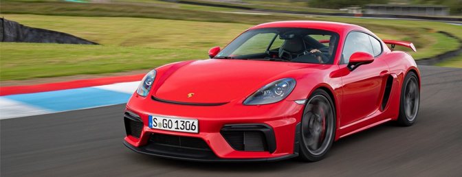 Porsche 718 Cayman GT4 2020 rijtest video