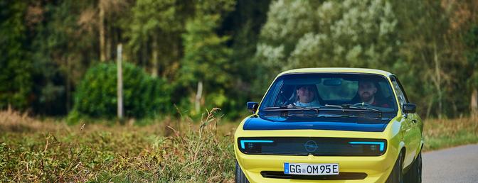 Opel Manta GSe ElektroMOD review 2021