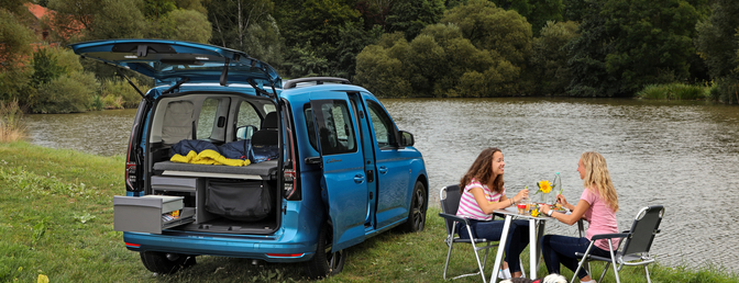 Zomertest: Volkswagen Caddy Maxi California (2021)
