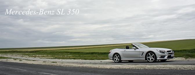 Mercedes-Benz SL 350 2012 rijtest
