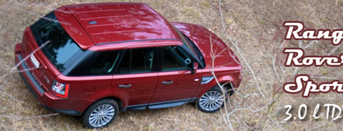 Range Rover Sport rijtest 2010 3.0 liter tdV6