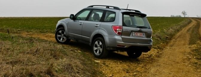 Rijtest Subaru Forester 2.0D