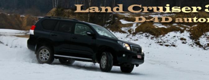 Rijtest Toyota Land Cruiser 3.0l D-4D automaat
