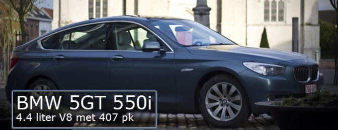 Rijtest BMW 550i