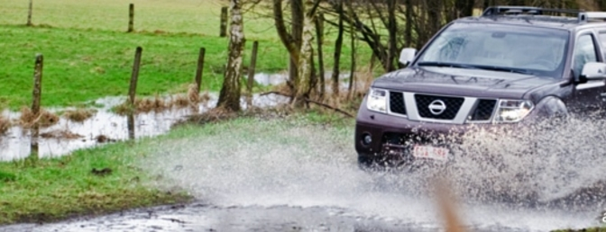 Rijtest: Nissan Pathfinder  dCi