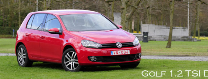 rijtest Volkswagen Golf 1.2 TSI DSG