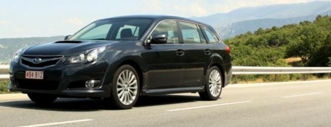 Rijtest : Subaru Legacy Touring Wagon 2.0D Sport
