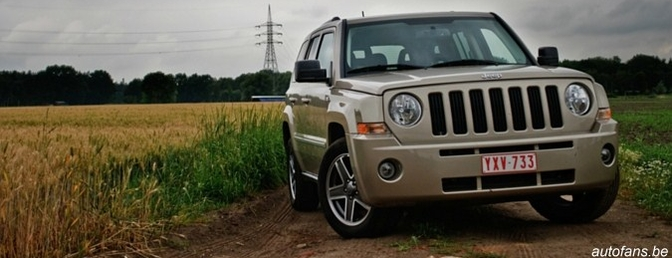 Rijtest : Jeep Patriot 2.0CRD