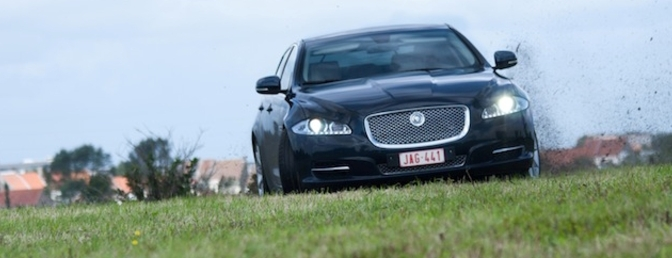 rijtest jaguar XJ 3.0 liter diesel
