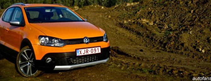 Rijtest: Volkswagen Crosspolo (2011) 1.6 TDI 75