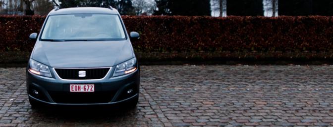 Rijtest: Seat Alhambra 2.0 TDI 170 DSG
