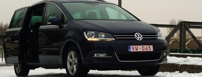 Rijtest: Volkswagen Sharan 2.0 TDI 136 Highline
