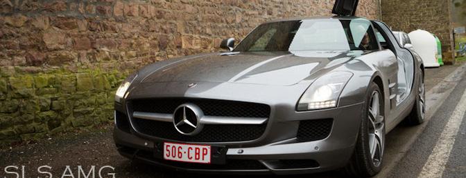 rijtest Mercedes-Benz SLS AMG
