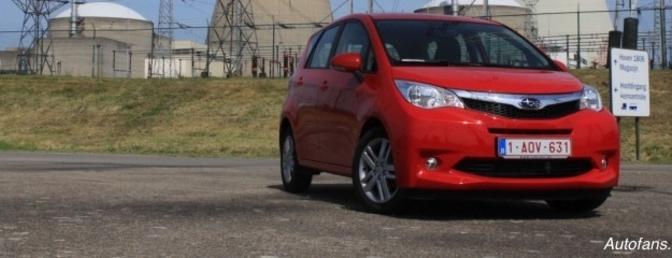 Rijtest: Subaru Trezia 1.4D MMT
