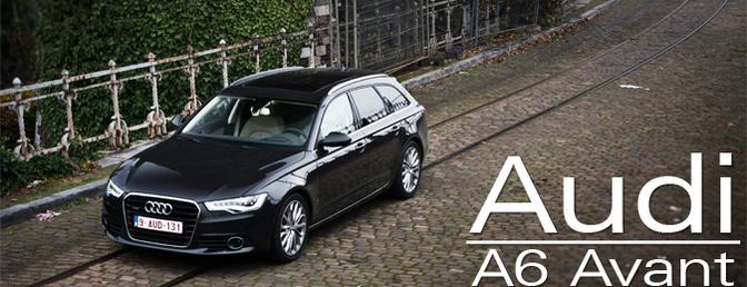 Rijtest: Audi A6 Avant 3.0TDI Quattro