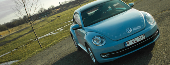 volkswagen beetle 1.2 TSI rijtest 2012