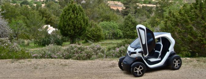 Renault Twizy rijtest Ibiza 2012