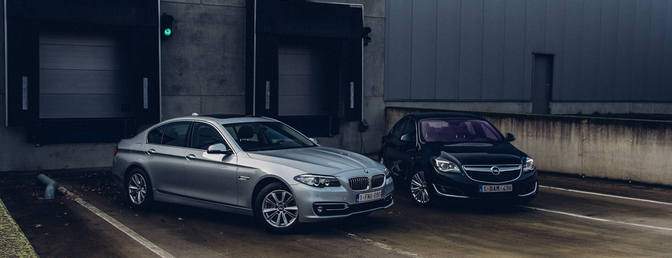 open insignia turbo vs bmw 518d