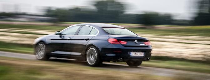 BMW 6 reeks Gran coupe 640d rijtest